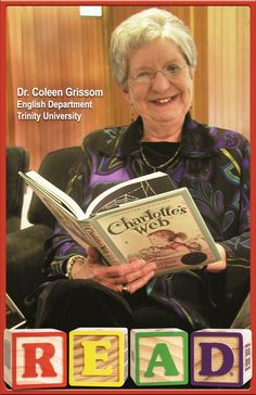 READ Poster, Professor Coleen Grissom, English
