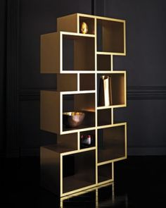 Tower Shelving Unit Tom Dixon for DUNE