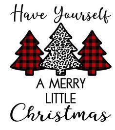 A Merry Little Christmas Vinyl Transfer for Tshirt Cricut Christmas Ideas, Christmas Truck, Merry Little Christmas, Plaid Christmas, Christmas Svg, Christmas Projects, Christmas Decorations, Christmas Vinyl Crafts, Christmas Decals