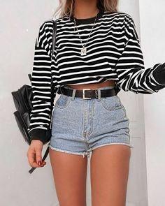 Best Jeans For Women Knee Cut Jeans – bueatyk Source by waltergrritter juvenil femenina moda flaquitas Look Fashion, Teen Fashion, Fashion Outfits, Womens Fashion, Autumn Fashion, Fashion Edgy, Fashion 2020, Fashion Ideas, Fashion Trends