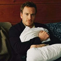 Outtake photo from T Magazine photo shoot. Michael Fassbender by Bruce Weber.