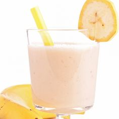 This banana fruit smoothie is perfect at any time of the day.  Packed with fresh fruit, it is a healthy beverage choice.. Banana Fruit Smoothie Recipe from Grandmothers Kitchen.