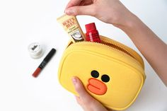 Line Character Sally Makeup Organizer Pouch