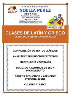clases de latín y griego