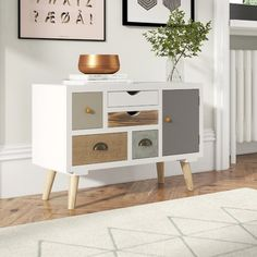 Wonderful Photo small furniture Popular On among my very repeated trips to IKEA I discovered cheaper missing platforms that were the perfec Small Furniture, Upcycled Furniture, Bedroom Furniture, Diy Furniture, Bedroom Decor, Living Room Bedroom, Living Room Decor, Hallway Cabinet, Retro Sideboard
