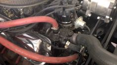 Engine compartment on Jack's 1965 Mustang Convertible - Day 24 Ford Rest...