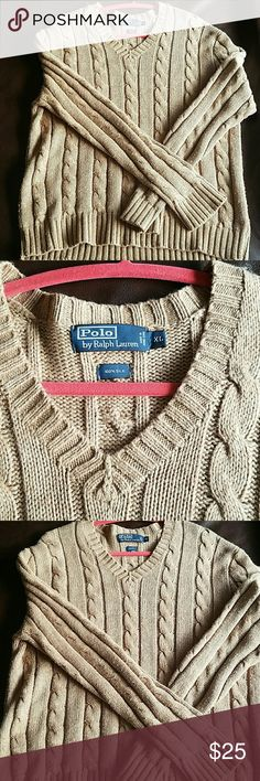 Polo Sweater Gently worn, 100% Silk Polo Sweater Polo by Ralph Lauren Sweaters V-Neck