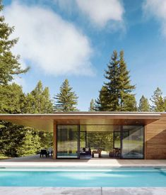 Flat roof modern