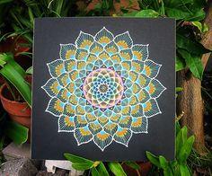 peacock sand mandala