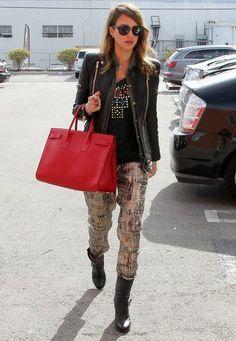 Jessica Alba - Isabel Marant pour H&M