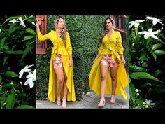 Youtube, Kimono Top, Sari, People, Tops, Dresses, Women, Fashion, Fashion Trends