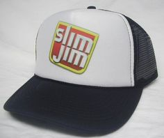 Slim Jim Trucker Hat - Products, Business and Brands Trucker Hats & More