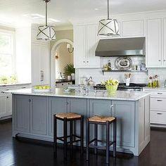BHG - kitchens - dark hardwood floors,