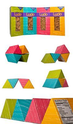 Ludo - package design by Verónica Jarquín, via Behance. Cool.