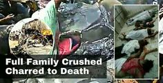 Entire family of 7 dead in Burdawan accident - Kids parents grand parents all dead on spot   At least seven persons including three children and two women of a same family were killed as a tar-filled tanker overturned and fell on a private car on Durgapur Expressway (NH2) near Rathtala area in Burdwan district of West Bengal on Wednesday morning reports said.  According to reports when a Howrah to Asansol bound sedan car was trying to overtake a tanker the tar-filled tanker lost its control…