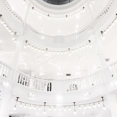 The new H&M flagship store is painfully white and bright.  #hm #thehague #denhaag #070 #white #architecture #igersholland #visitthehague