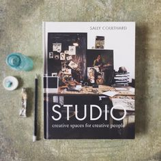 This gorgeous book on creative spaces for creative people