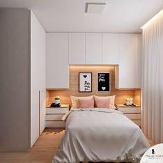 gorgeous bedroom cabinet ideas for home inspiration 8 - Schlafzimmer Wardrobe Design Bedroom, Closet Bedroom, Home Bedroom, Bedroom Decor, Bedroom Ideas, Warm Bedroom, Ikea Bedroom, Bedroom Inspiration, Girls Bedroom