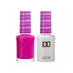 DND Daisy Duo 100% Pure Gel Pack: 1 Gel Lacquer .5 oz + 1 Lacquer .5oz Matching Color.  With the new formula, Daisy Gel Nail Polish system needs only Gel Color and Top Coat, eliminating the use of Base Coat and Bond. It lasts to 21 days. LED and UV cured. Made in USA.  INSTRUCTIONS:   * Gently remove the shine from nail bed with 180/240 buffer and clean the oil/dirt from nail bed  * Apply 1st thin layer of Daisy soak-off gel color. Be sure to seal the free edge foe each step  * Cure under UV Dnd Gel Nail Polish, Gel Polish Colors, Gel Color, Nail Colors, Gel Nails, Manicures, Dark Nails, Coffin Nails, Luminous Nails