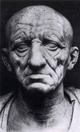 Ritratto di un patrizio romani, prima metà del i secolo a.c. Marmo, Roma, Museo Torlonia.
