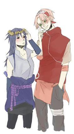 Sasuke and Sakura Gender bender – My CMS Naruto Minato, Anime Naruto, Naruko Uzumaki, Naruto Team 7, Naruto Funny, Inojin, Narusasu, Naruhina, Sakura Haruno