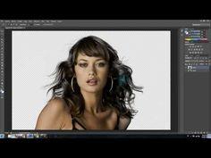 Cómo hacer un recorte perfecto en Photoshop: recortar pelo