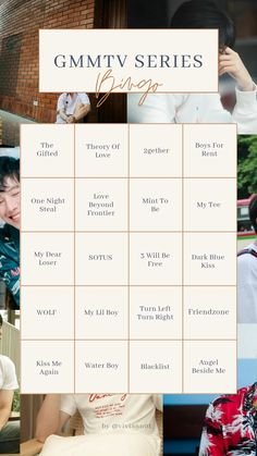 Bingo Template, Templates, Learn Thai Language, Thailand Wallpaper, Thai Words, Film Recommendations, Korean Drama List, Theory Of Love, Bright Pictures