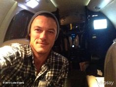 Fly with me Luke Evans x
