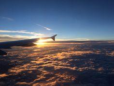 Über den Wolken / Zwischen Hamburg und Frankfurt / Lufthansa
