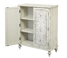 Interior detail of the Antique Chest by Accentrics Home by Pulaski  | The Decorating Diva, LLC