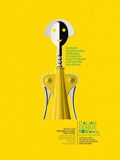 Italian Genius Now. Santander Cultural Porto Alegre.
