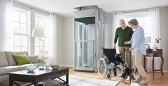 Transform your life without moving home with a Stiltz home elevator - the most innovative residential elevator in the USA. Contact us for a free site survey. Love Your Home, My Dream Home, Custom Home Builders, Custom Homes, House Lift, Elevator Design, Modern Colonial, Moving Home, Aging In Place