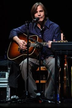 Jackson Browne - 7-3-14 @ the Uptown Theatre - KC - AMAZING!  Just him, a keyboard, and about two dozen guitars.