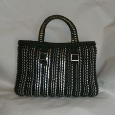 Pop Tab Tote Bag  The Christina Tote by DianeKDesigns on Etsy, $150.00