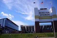Ross-Ade Stadium! Purdue vs Michigan today!  Boiler up!!  this train ride is tooo long