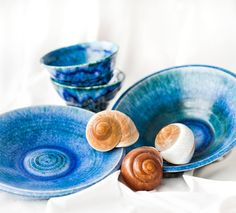 Миски ø 25,0 cm. Пиалы 0,40L. https://www.facebook.com/potterymagic.ua/