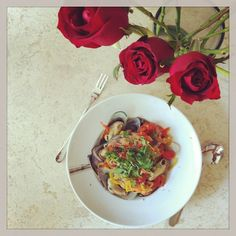 Sabine´s Pasta with seafood