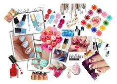 """Holiday Nail Art"" by basmahahmed ❤ liked on Polyvore featuring beauty, Sugarpill and Bobbi Brown Cosmetics"