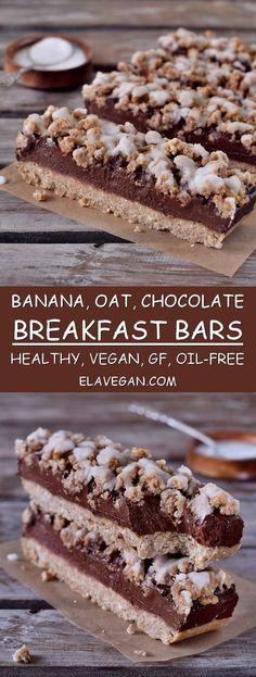 oat breakfast bars vegan gluten-free healthy recipe plant-based