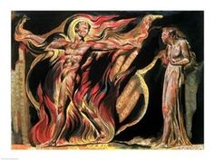 Jerusalem The Emanation of The Giant Albion Such visions have appeared to me, 1804 Poster Print by William Blake (24 x 18)