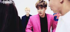 아인 — Woohyun judging silently at the back~