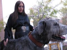 Samhain 2010 - Me and Oscar