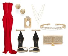 Formal by iloveyouzhay on Polyvore featuring polyvore, fashion, style, Thakoon, Yves Saint Laurent, Bony Levy, Suzanne Kalan, Chloé and clothing