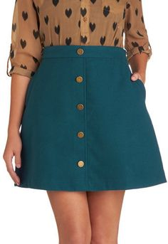 #ModCloth                 #Skirt                    #Back #Scholastic #Skirt #Teal #Retro #Vintage #Skirts #ModCloth.com          Back to Scholastic Skirt in Teal   Mod Retro Vintage Skirts   ModCloth.com                              http://www.seapai.com/product.aspx?PID=936331