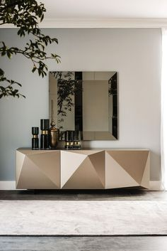 Buy the Cattelan Italia Kayak Sideboard from our online store. Contemporary sideboard with an abstract geometric design on its doors. Contemporary Living Room Furniture, Contemporary Bedroom, Modern Furniture, Contemporary Cottage, Rustic Furniture, Contemporary Building, Kitchen Contemporary, Contemporary Apartment, Contemporary Wallpaper