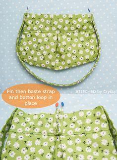 Little-girl-pleated-purse-tutorial-10.jpg (670×921)