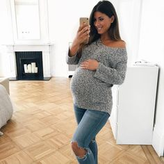 Mimi Ikonnn Pregnant, Mimi Ikonn Maternity Style, 40 Weeks, Baby Bump, Sweater Weather, London.