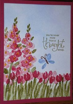 New Take with Old Stamp by Nan Cee's - Cards and Paper Crafts at Splitcoaststampers