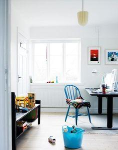 Habitaciones infantiles decoradas en blanco