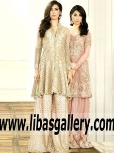 Sensational #Imperial Blush Campanula Bridal Sharara for Weding and Special Occasions - This stunning dress with gorgeous Sharara is sure to bring out the diva in you. #pakistaniclothing #pakistanidesign #pakistanibride #asianbride #pakistanibridalwear #bridal #pakistanibridals #style #Grandweddings #indiancouture #houtecouture #bespoke  #FPW15 #Shipworldwide #farazmanan #UK #USA #Canada #Australia #France #Germany #SaudiArabia #Dubai #UAE #Bahrain #Kuwait #Norway #Sweden #NewZealand #fpw